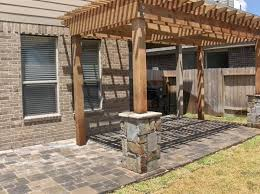 porch columns benches u0026 stone sitting walls houston tx stevens