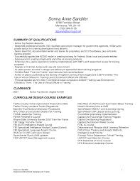 How To Create A Good Resume Instructional Design Resume Berathen Com