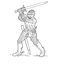 medieval knights coloring pages contegri com