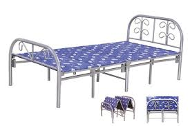 Single Folding Bed Wholesale Portable Space Saving Cheap Single Folding Bed Price