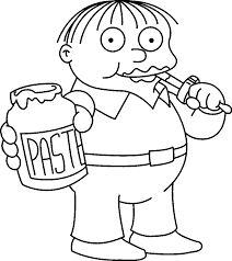 the simpsons coloring pages the simpsons coloring pages coloring