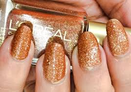 l u0027oreal nail polish gold dust collection i like it chunky review