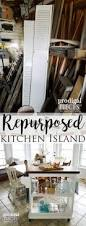 kitchen island cart from repurposed materials prodigal pieces check out this repurposed kitchen island cart all made from materials prodigal pieces