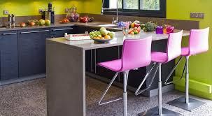 cuisine coloree une cuisine colorée aux nuances modernes