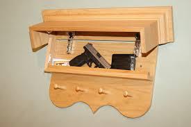 hidden shelf wall mount