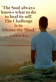 Challenge What To Do The Challenge Is To Silence The Mind Wisdom Quotes Stories