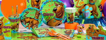 scooby doo wrapping paper scooby doo party supplies delights direct