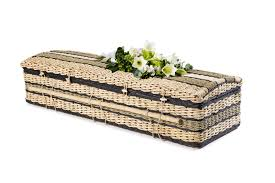 wicker casket banana leaf casket swanborough funerals