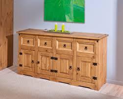 meuble cuisine en pin buffetbahut rustique en pin massif collection et meuble cuisine en
