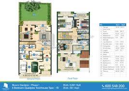 floor plan real estate bloom gardens in abu dhabi
