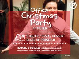 Christmas Parties Leicester Peter Pizzeria