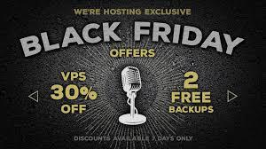 microphone black friday black friday deals vps hosting 30 off 2 free backups