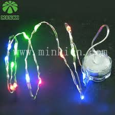 battery operated white christmas lights minki battery operated 1m 10 leds waterproof led chritmas light on