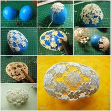 Easter Egg Decorating With Paper by Diy Quilling Flowers Easter Egg Quilling Quilling Art And Art Work