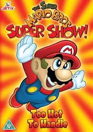 super mario brothers super show dvd amazon uk super mario