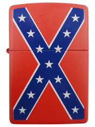 Confederate Flag Rear Window Decal Confederate Rebel Flag Zippo Lighter Red