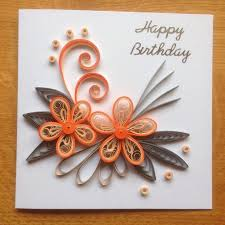Birthday Cards The 25 Best Quilling Birthday Cards Ideas On Pinterest Quilling