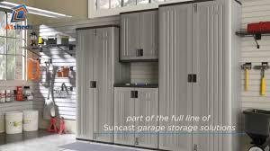 suncast mega tall storage cabinet suncast uk tall storage cabinet youtube