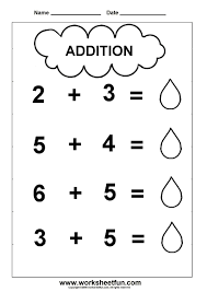 thanksgiving kindergarten worksheets pre k addition worksheets addition worksheet cloud theme 1