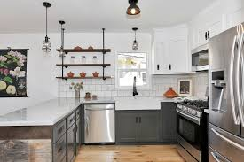 Industrial Pendant Lighting For Kitchen Eclectic Kitchen Industrial Normabudden Com