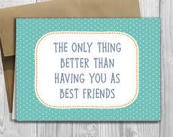 friend card etsy