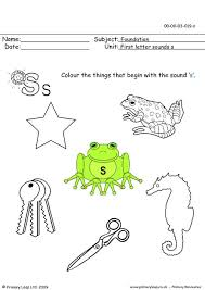 primaryleap co uk first letter sounds ss worksheet