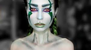 dark elf halloween makeup evelina forsell youtube