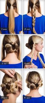 easiest type of diy hair braiding braids twists and buns 20 easy diy wedding hairstyles offbeat