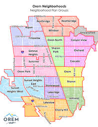 neighborhood plans planning orem