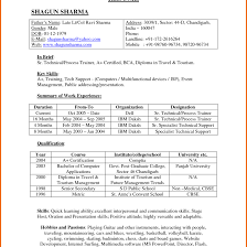 resume format download for freshers bca internet resume format for bca freshers it cover letter sle at ideas