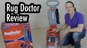 rug doctor upholstery cleaner review review rug doctor deep carpet cleaner youtube