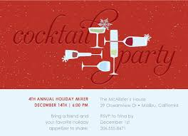 impressive free cocktail party invitation template 4 amid