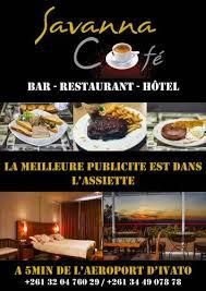 cuisine de bar le savanna cafe antananarivo ประเทศมาดาก สการ ข อเสนอเร มต นท