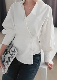 white blouses turndown collar blouses shirts for shop free