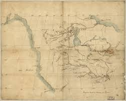 Highly Detailed River Map Of by Before Lewis U0026 Clark Lewis U0026 Clark And The Revealing Of America