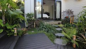 small tropical backyard ideas gallery gardens and planting zones