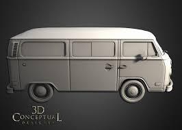 volkswagen minibus side view 3dconceptualdesignerblog project review little miss sunshine 3d