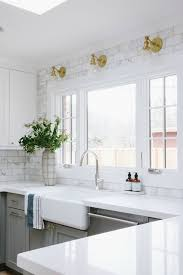 kitchen backsplash kitchen backsplash tile how high to go driven by decor