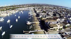balboa island aerial tour newport beach ca youtube