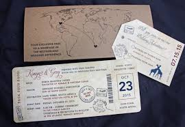 ticket wedding invitations 8 modern airline ticket wedding invitations invitations hub