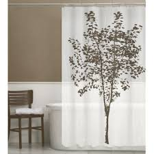 White And Brown Curtains Buy Brown Shower Curtains From Bed Bath Beyond
