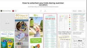 how to entertain your kids during summer vacation steve holmes