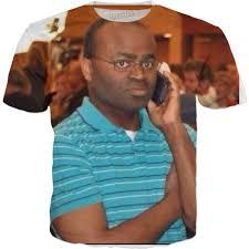 On The Phone Meme - man on the phone meme shirt