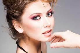professional make up beauty of beautiful woman wearing professional make up
