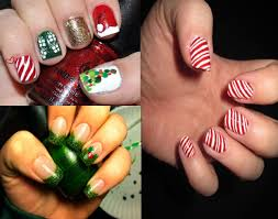 cute holiday nail art design new years eve party nail designs nail