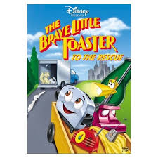 The Brave Little Toaster Goes To Mars Vhs Brave Little Toaster To The Rescue