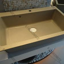Undermount Porcelain Kitchen Sinks by Modified Acrylic Undermount Porcelain Kitchen Sink Double
