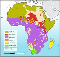 africa map climate zones sub saharan africa