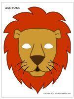 lion mask free lion masks print u0026w mask color