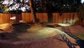 feature the backyard pump track u2013 construction mtbr com